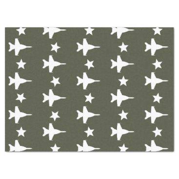 F-18 Pattern Tissue Paper