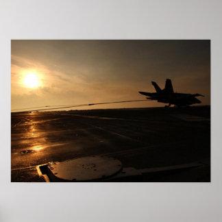 F-18 Tailhook Póster