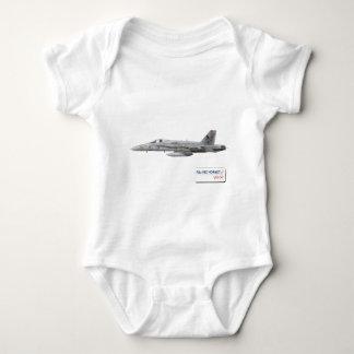 F-18 with VFA-147 ARGONAUTS Squadron T Shirt