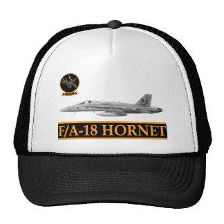 F-18 with VFA-147 ARGONAUTS Squadron Trucker Hat