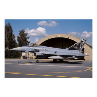 F-2000A Typhoon German Air Force 3029 Poster