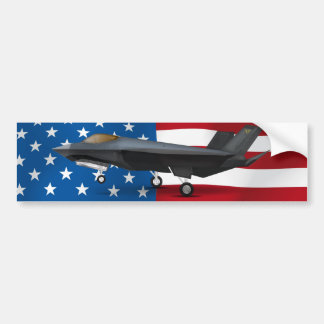 F-22 BUMPER STICKER