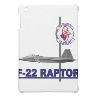 F-22 caso del iPad del escuadrón de caza del rapaz