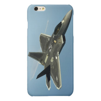 F-22 Fighter Jet Glossy iPhone 6 Plus Case