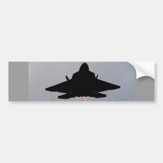 F-22 LEAVING GUAM BUMPER STICKER