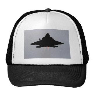 F-22 LEAVING GUAM TRUCKER HAT