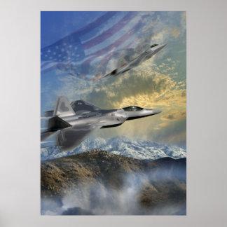 F-22 Rangers 14 Poster
