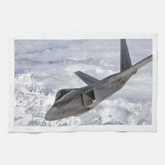 F-22 Rapaz-Elmendorf AFB Toalla De Cocina