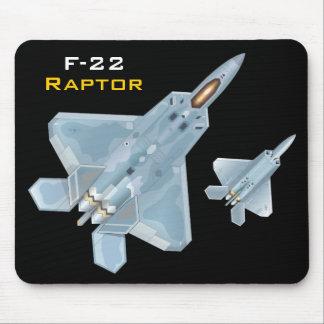 F-22 rapaz Mousepad Tapetes De Ratón