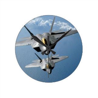 """F-22 RAPTOR 8""""  WALL CLOCK"""