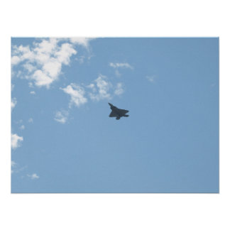 F-22 Raptor at Shaw AFB,SC. Poster
