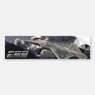 F-22 RAPTOR Bumper Sticker