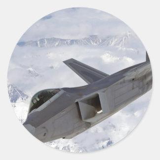 F-22 Raptor-Elmendorf AFB Classic Round Sticker