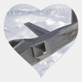 F-22 Raptor-Elmendorf AFB Heart Sticker
