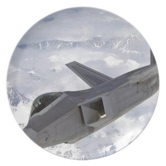 F-22 Raptor-Elmendorf AFB Party Plates