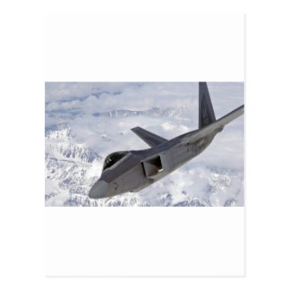 F-22 Raptor-Elmendorf AFB Postcard