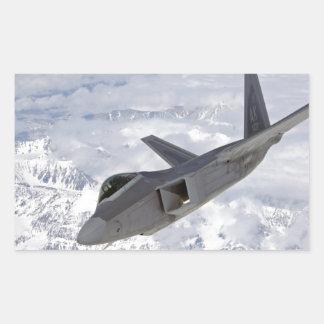 F-22 Raptor-Elmendorf AFB Rectangular Sticker