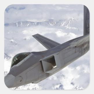 F-22 Raptor-Elmendorf AFB Square Sticker