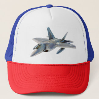 F-22 Raptor Fighter Jet Trucker Hat