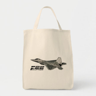 F-22 RAPTOR Grocery Tote