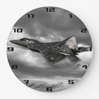 F-22 RAPTOR LARGE CLOCK