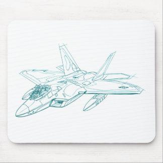 F-22 Raptor Lockheed Martin Mouse Pad