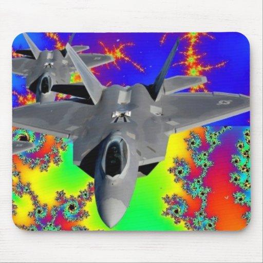 F-22 RAPTOR MOUSE PAD