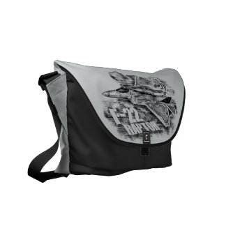 F-22 RAPTOR NULL MESSENGER BAG