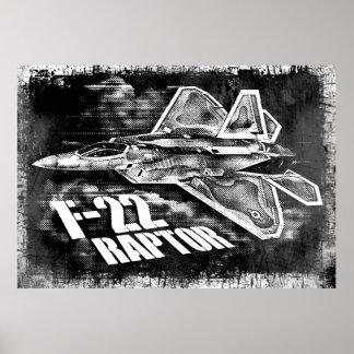 F-22 RAPTOR NULL POSTER