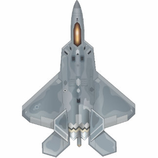 F-22 Raptor Photo Sculpture