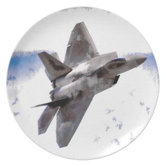 F-22 Raptor Plate