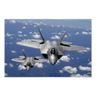F-22 Raptor Stealth Posters