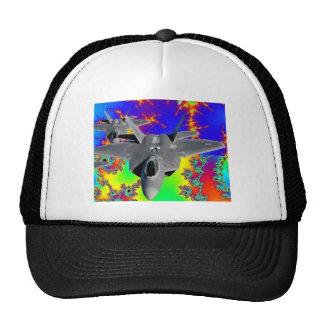 F-22 RAPTOR TRUCKER HAT