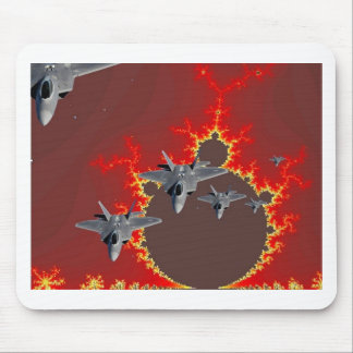 F-22's  FROM OUTER SPACE Mouse Pad