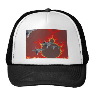 F-22's  FROM OUTER SPACE Trucker Hat