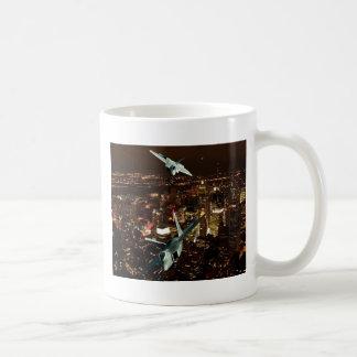 F-22's  'SCISSOR MANEUVER' Classic White Coffee Mug