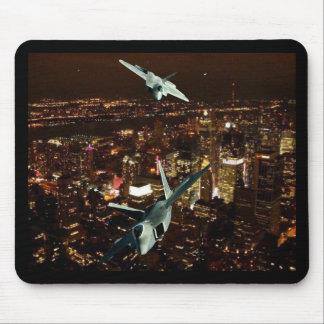 F-22's  'SCISSOR MANEUVER' Mouse Pad