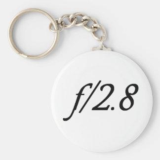 f/2.8 keychain