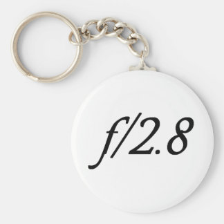 f/2.8 llaveros personalizados