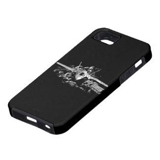 F-35 caso del iPhone 5/5S del relámpago II iPhone 5 Fundas