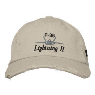 F-35 Golf Hat Embroidered Baseball Cap