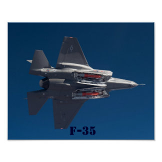 F-35 JSF POSTER