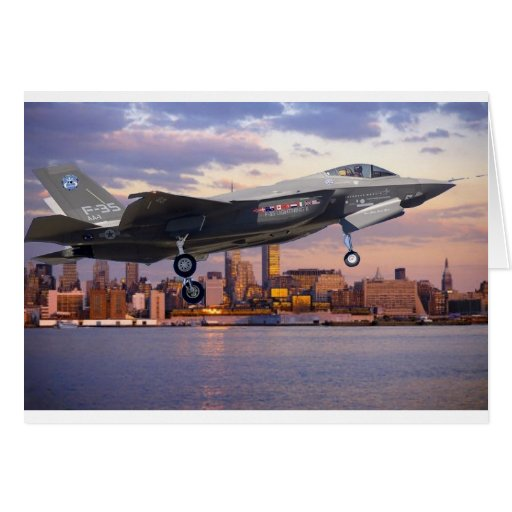 F-35 LIGHTNING FIGHTER AIRCRAFT CARDS