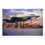 F-35 LIGHTNING FIGHTER AIRCRAFT POST CARD