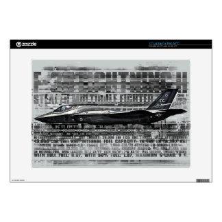 "F-35 Lightning II 15"" Laptop For Mac & PC Skin 15"" Laptop Decals"