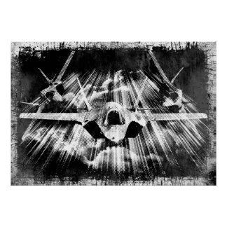 F 35 Lightning Ii Thunderbirds Jet Fighter Posters   Zazzle