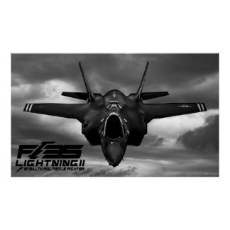 F-35 Lightning II Poster