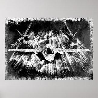 F-35 poster del relámpago II