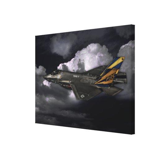 F-35 relámpago II Impresion En Lona