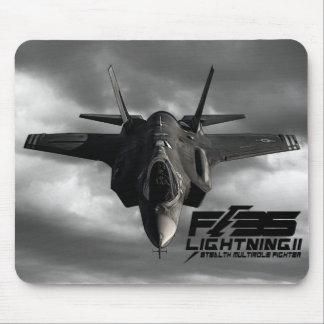 F-35 relámpago II Mouse Pads